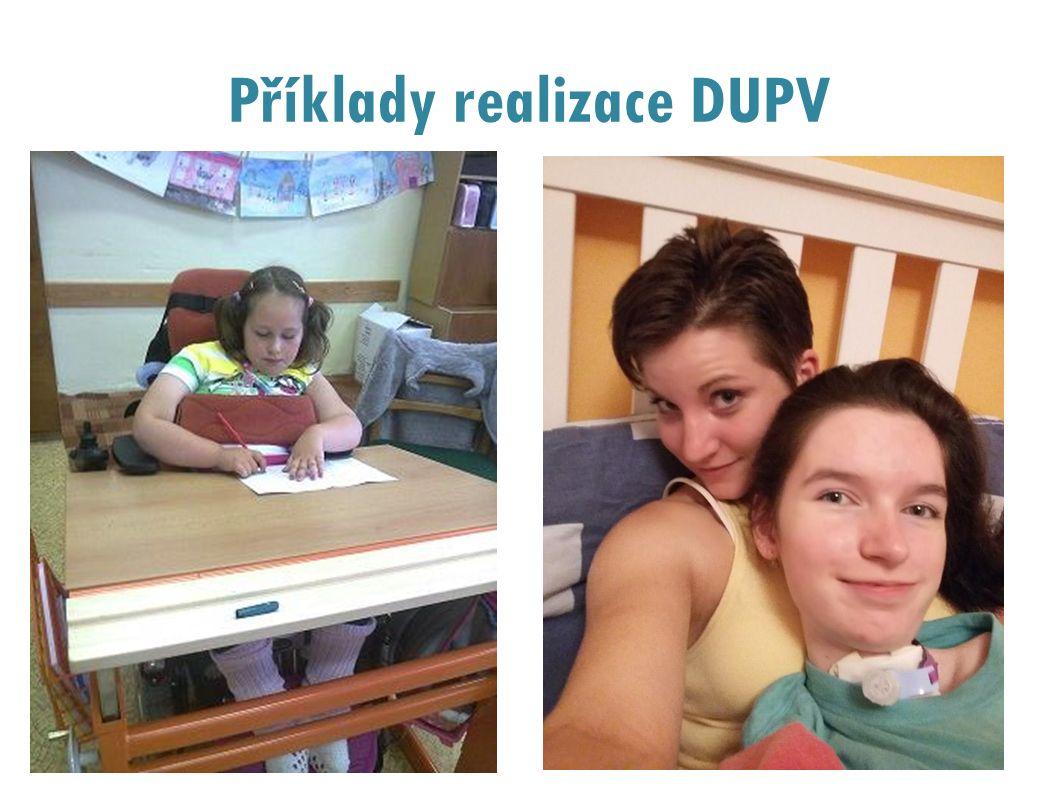 Příklady realizace DUPV