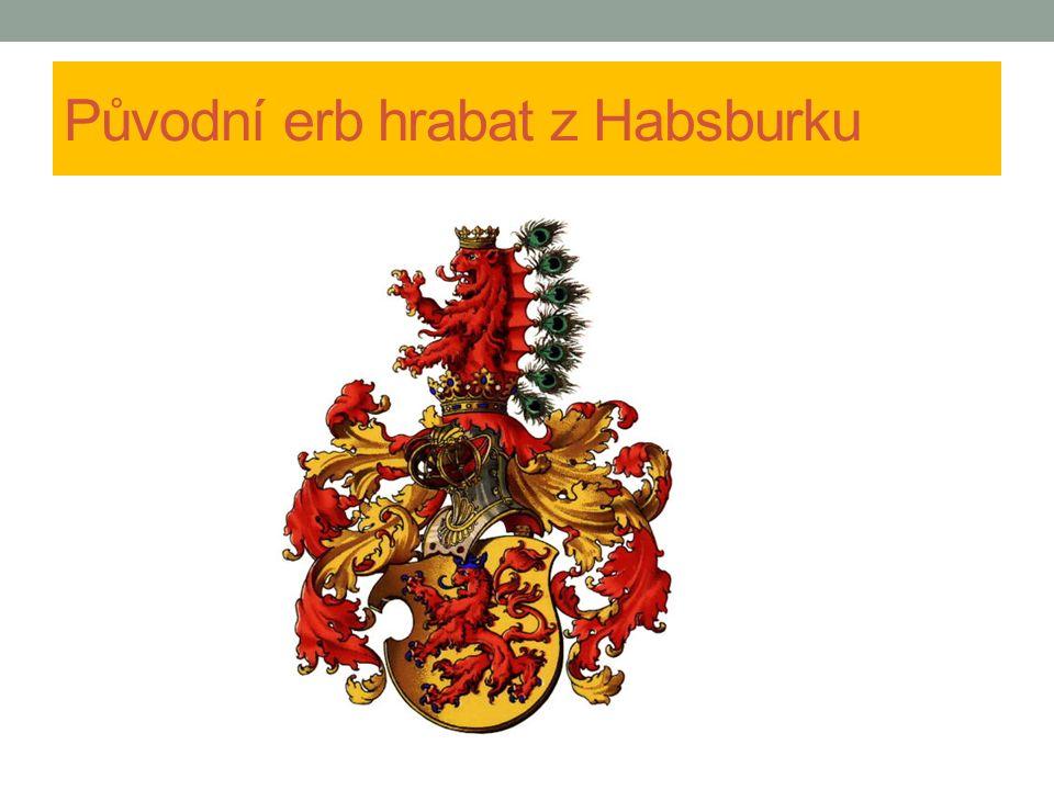 Původní erb hrabat z Habsburku