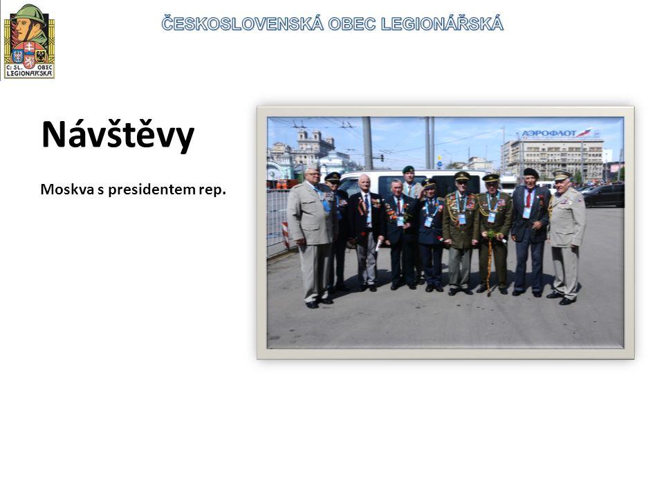 Návštěvy Moskva s presidentem rep.