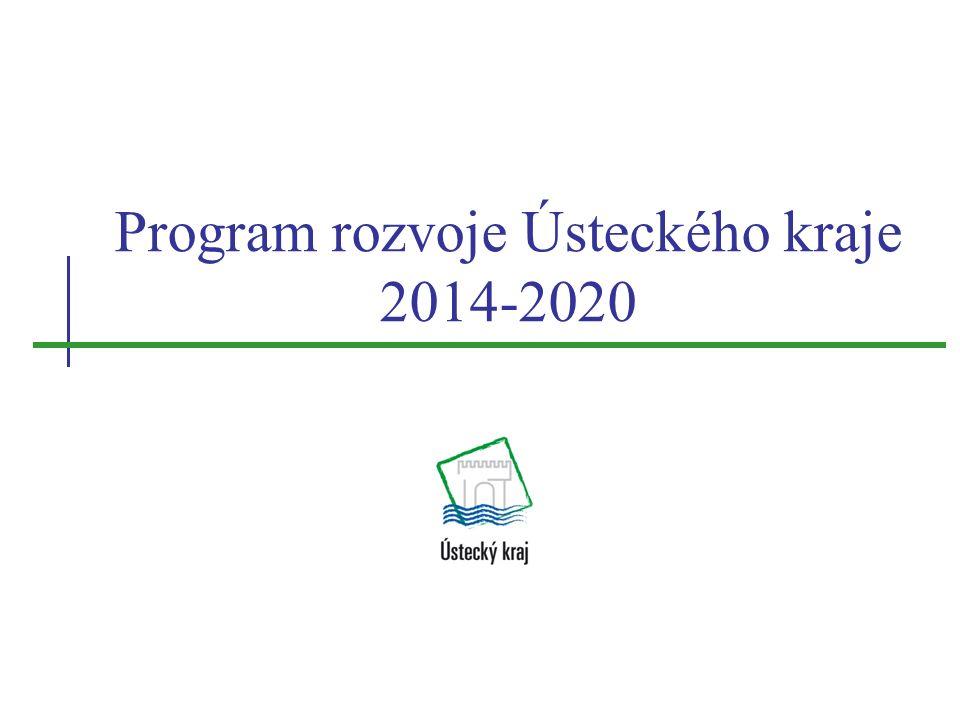 Program rozvoje Ústeckého kraje 2014-2020