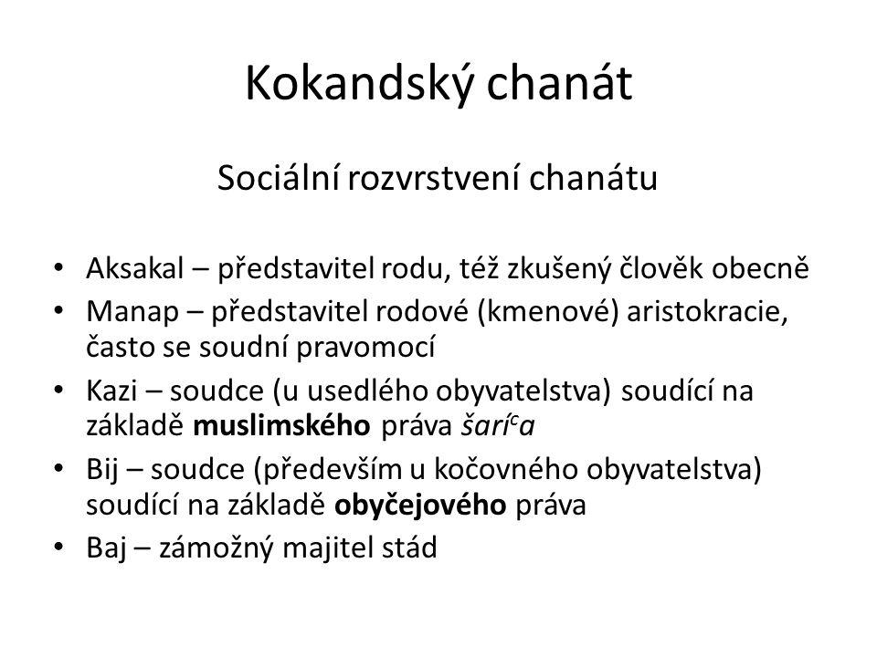 Kokandský chanát 18.– 19.