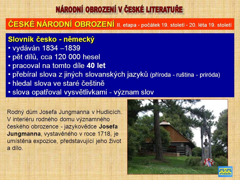 FRANTIŠEK PALACKÝ (14.června 1798 Hodslavice – 26.
