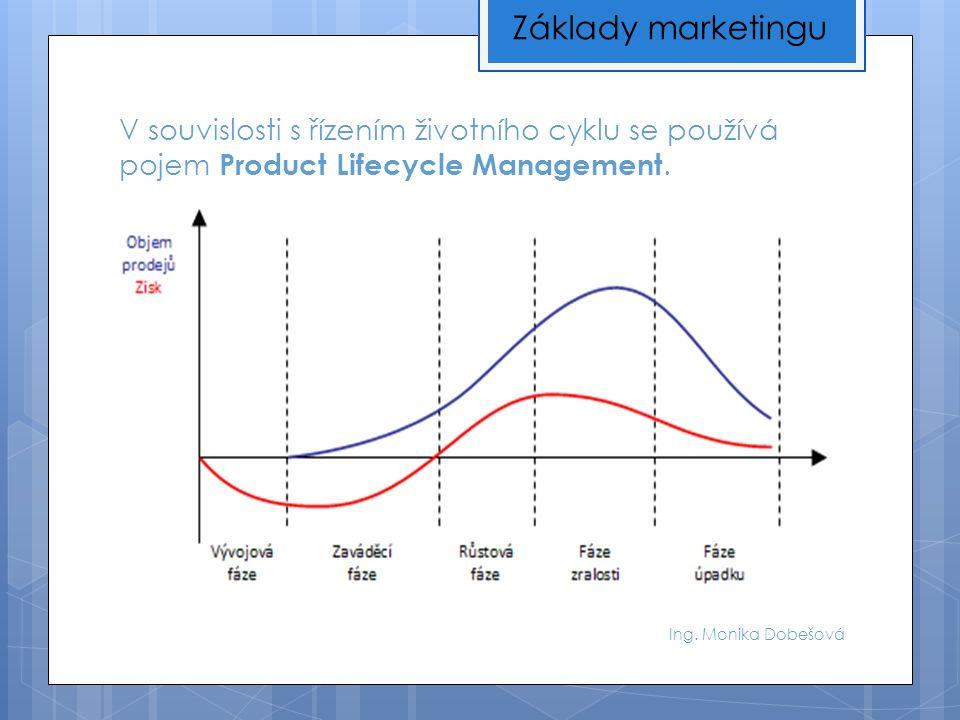 V souvislosti s řízením životního cyklu se používá pojem Product Lifecycle Management.