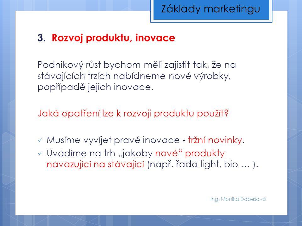 Ing.Monika Dobešová Téma, které budeme diskutovat v rámci cvičení (8.