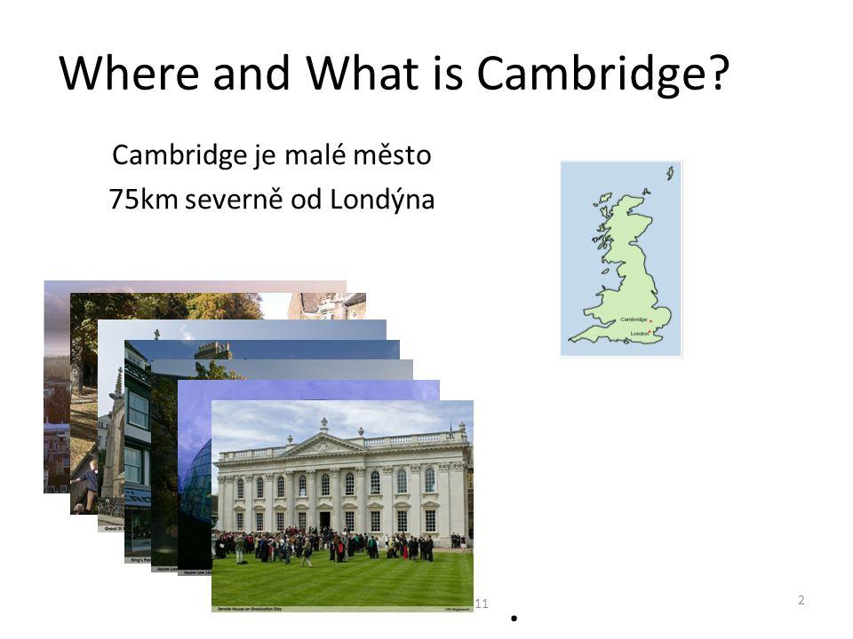 Nějaký VC fond apod.nebo velmi zřídka investice z Cambridge Venture Capitalového Fondu © Prof R.