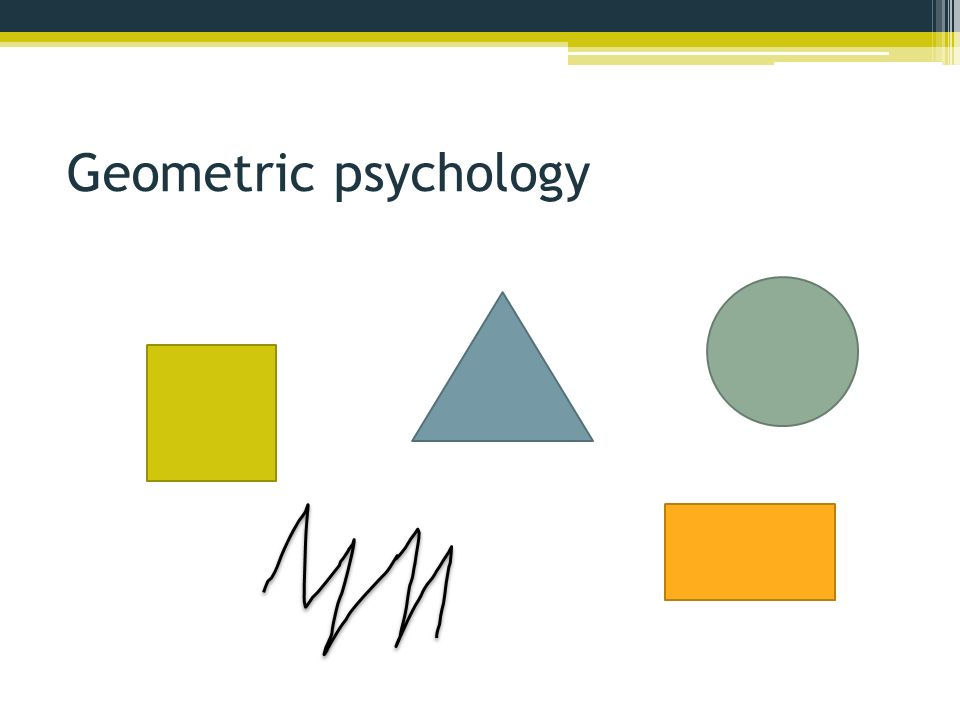 Geometric psychology