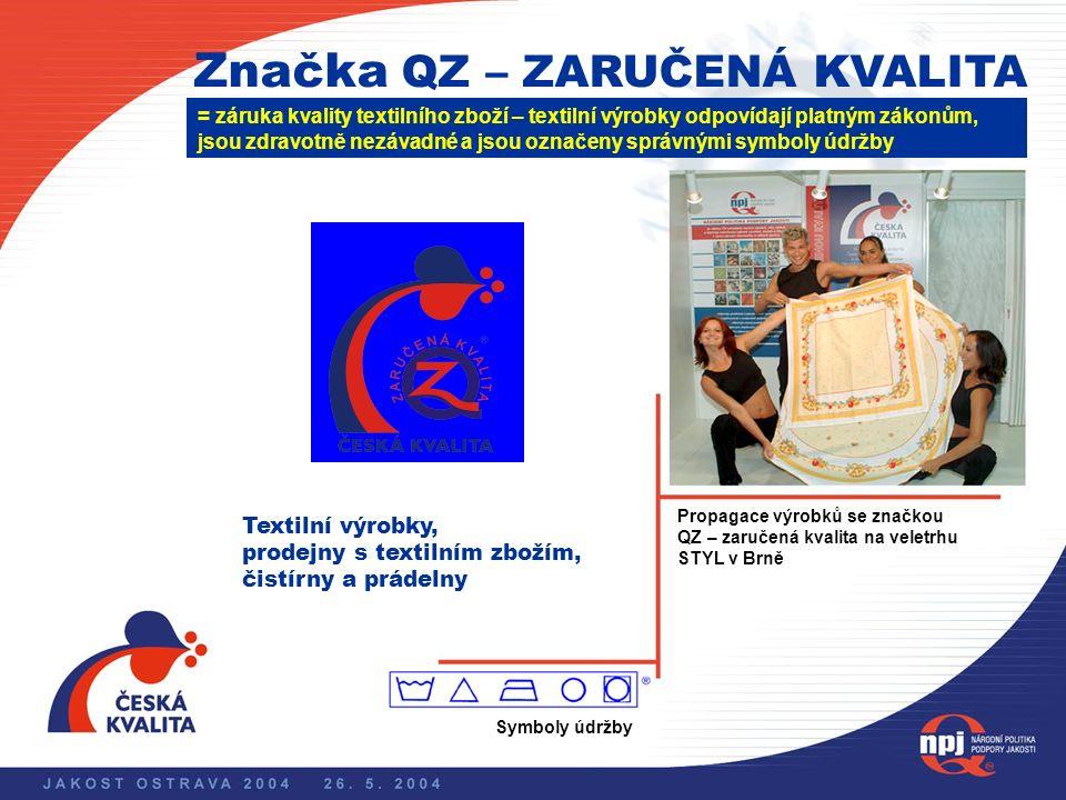 Národní politika podpory jakosti Značka ESČ = záruka trvalé shody vlastností výrobku s normami na elektrickou bezpečnost Všechny elektrotechnické výro