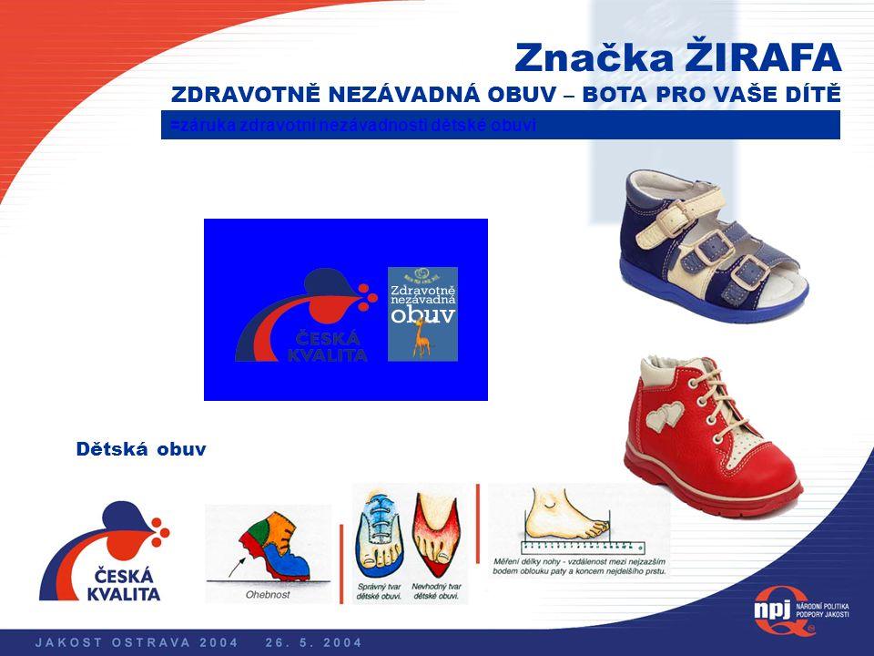 Národní politika podpory jakosti Značka QZ – ZARUČENÁ KVALITA = záruka kvality textilního zboží – textilní výrobky odpovídají platným zákonům, jsou zd