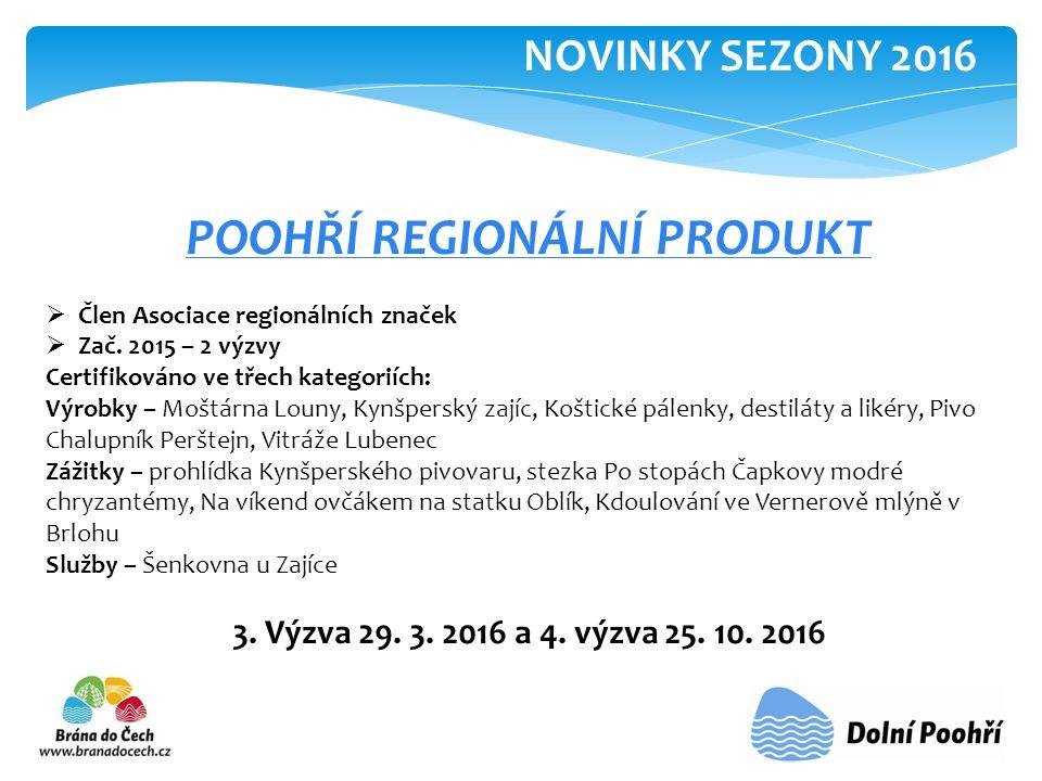 POOHŘÍ REGIONÁLNÍ PRODUKT  Člen Asociace regionálních značek  Zač.