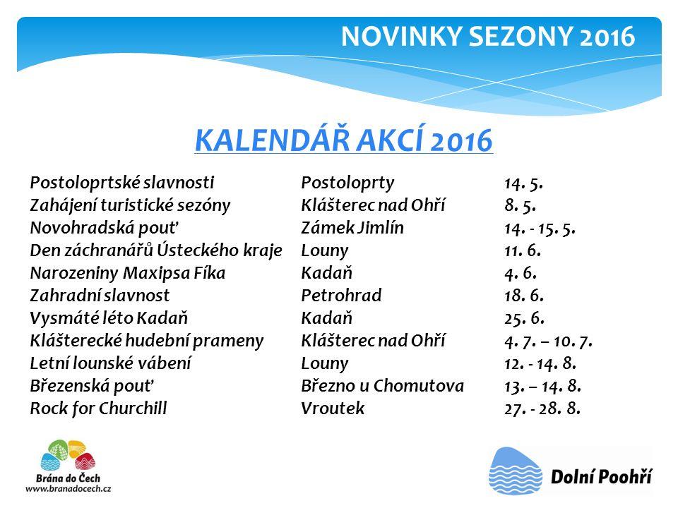 KALENDÁŘ AKCÍ 2016 Postoloprtské slavnosti Postoloprty14.