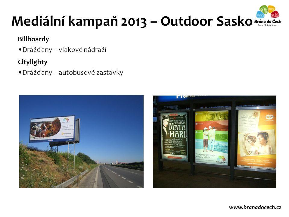 Billboardy Drážďany – vlakové nádraží Mediální kampaň 2013 – Outdoor Sasko Citylighty Drážďany – autobusové zastávky