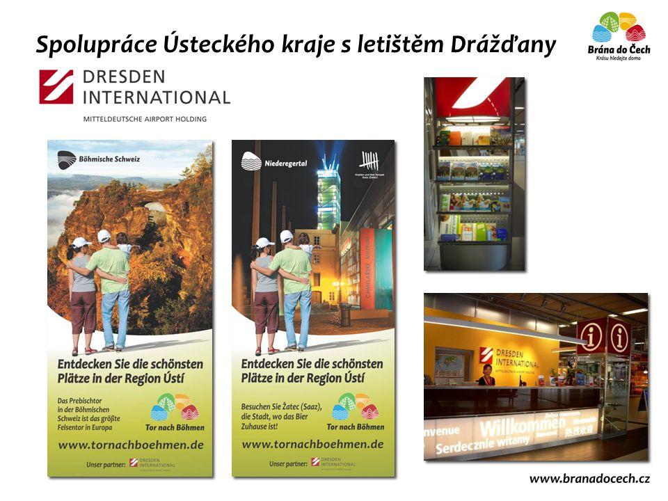 Spolupráce Ústeckého kraje s letištěm Drážďany