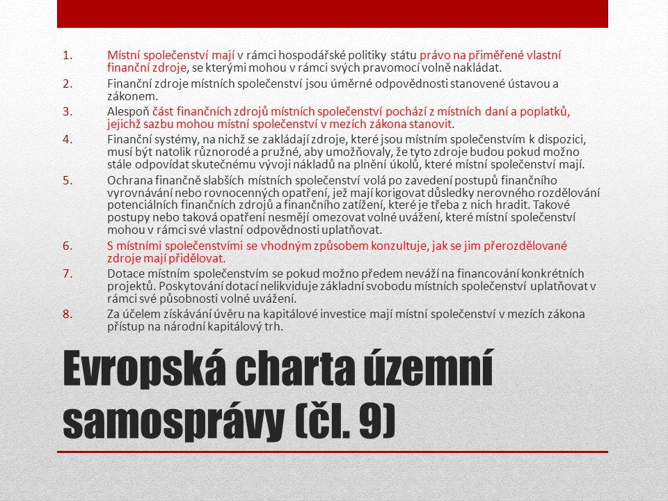 Evropská charta územní samosprávy (čl.