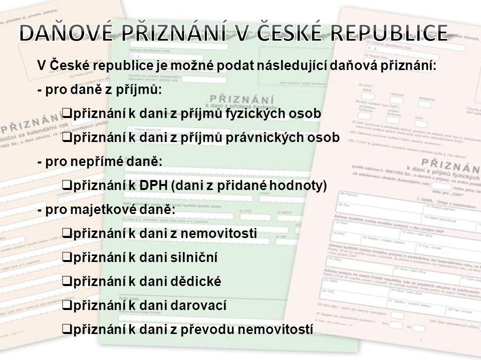 Je daní přímou.Je stanovena zákonem o daních z příjmů č.