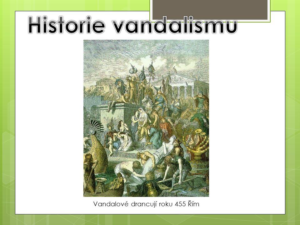 Vandalové drancují roku 455 Řím