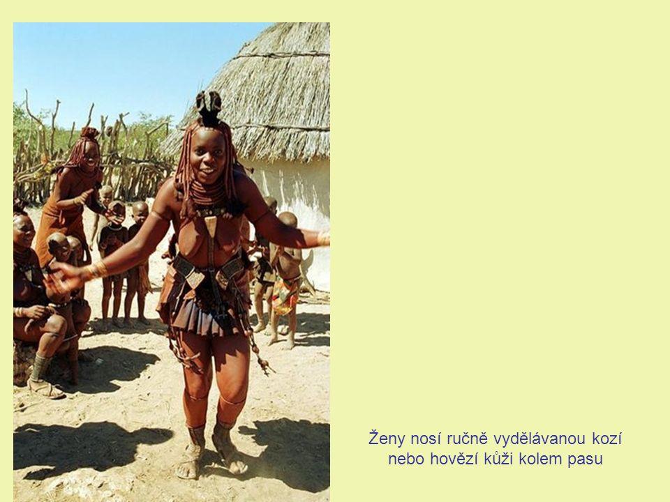 Himbští muži si nemohou vzít ženu z jiného národa