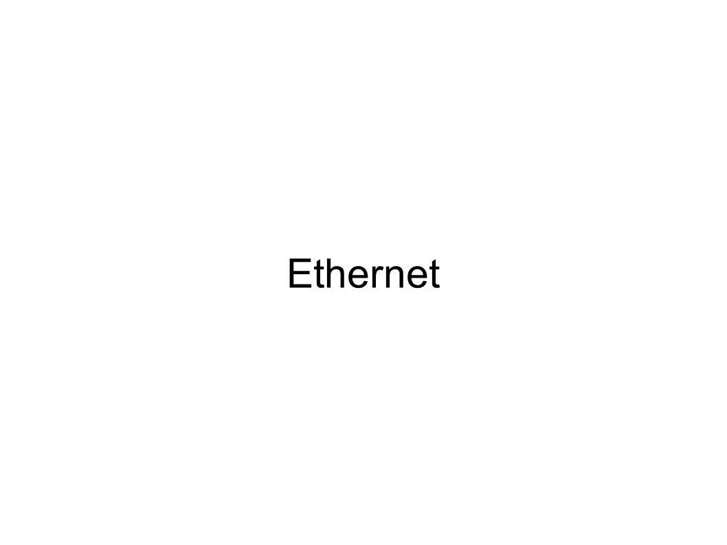 Ethernet 1 Gbps ● 1995, v roce 1998 první výsledky ● ale velká opatrnost výrobců po neúspěchu 100VG ● IEEE 802.3z ● UTP či STP alespoň kategorie 5e – full duplex → jen switche – využity všechny 4 páry ● renesance koaxiálu 150 Ohmů (25 m) – half duplex → drastické zkrácení (stíhání kolizí) – nepoužívá se ● optika