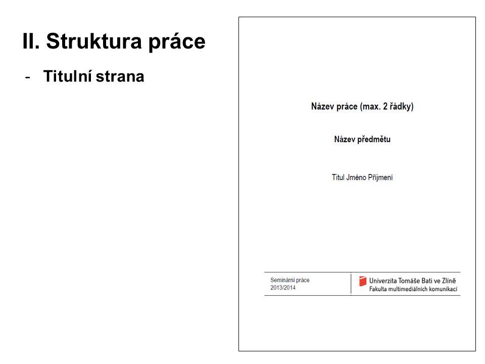 -Titulní strana