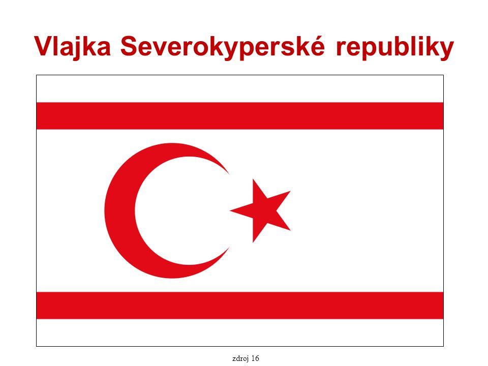 Vlajka Severokyperské republiky zdroj 16