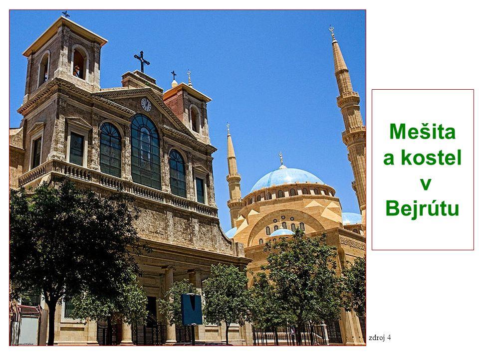 Mešita a kostel v Bejrútu zdroj 4