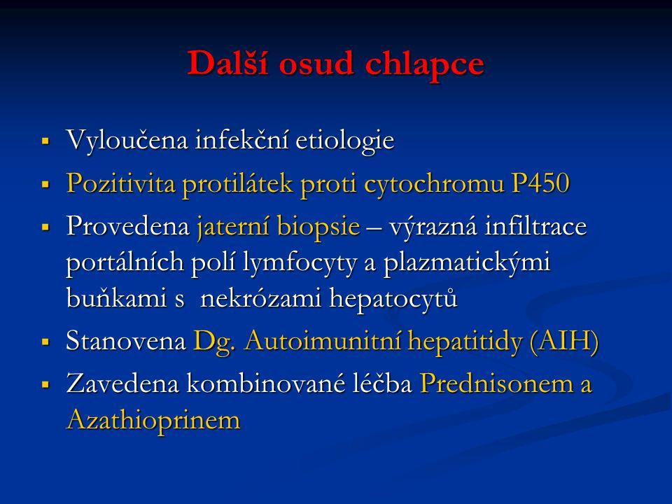 Závěrečná diagnóza, Autoimunitní hepatitida (AIH)