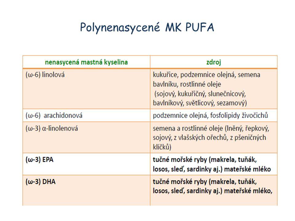 Polynenasycené MK PUFA