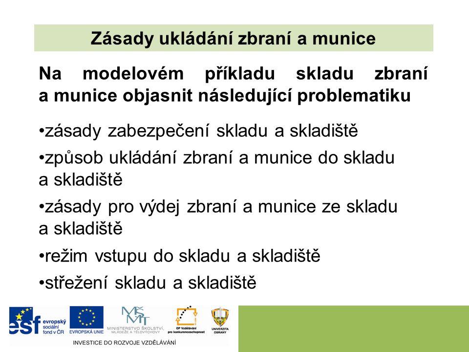Úkoly pro samostatnou práci: Prostudovat RMO č.48/2013 a NV MO č.73/2013.