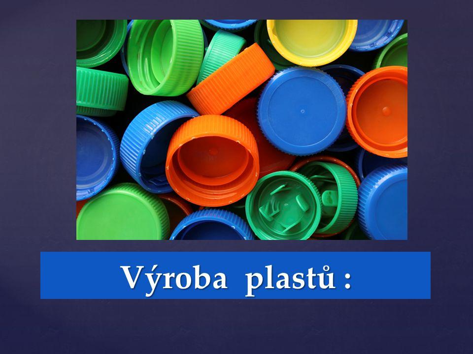 Výroba plastů :