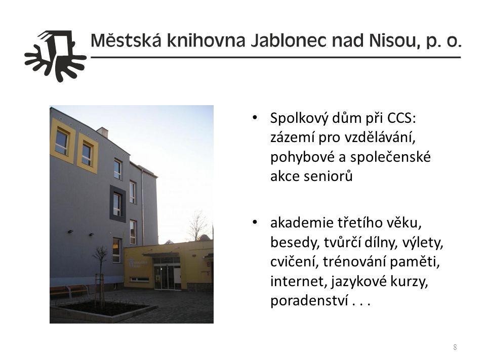 Městská knihovna Česká Lípa (hlavní budova nám.T.