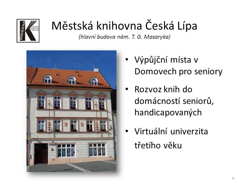 Městská knihovna Česká Lípa (hlavní budova nám. T.