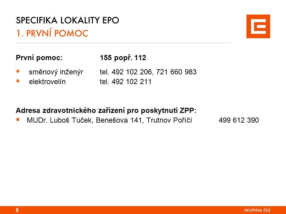 SPECIFIKA LOKALITY TDK 1.