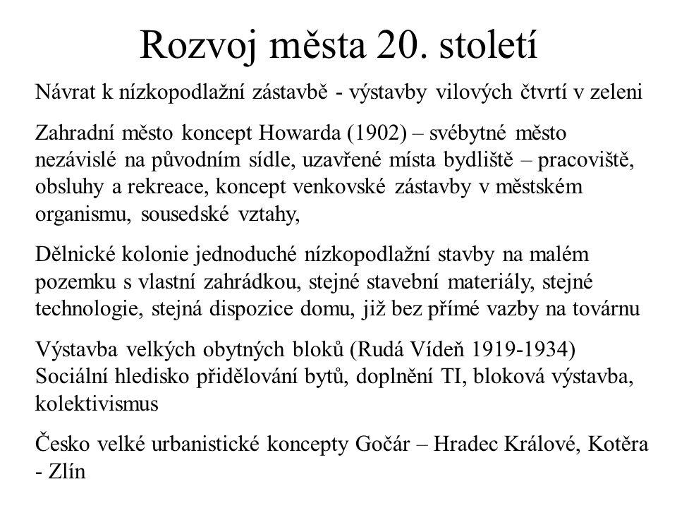 Rozvoj města 20.