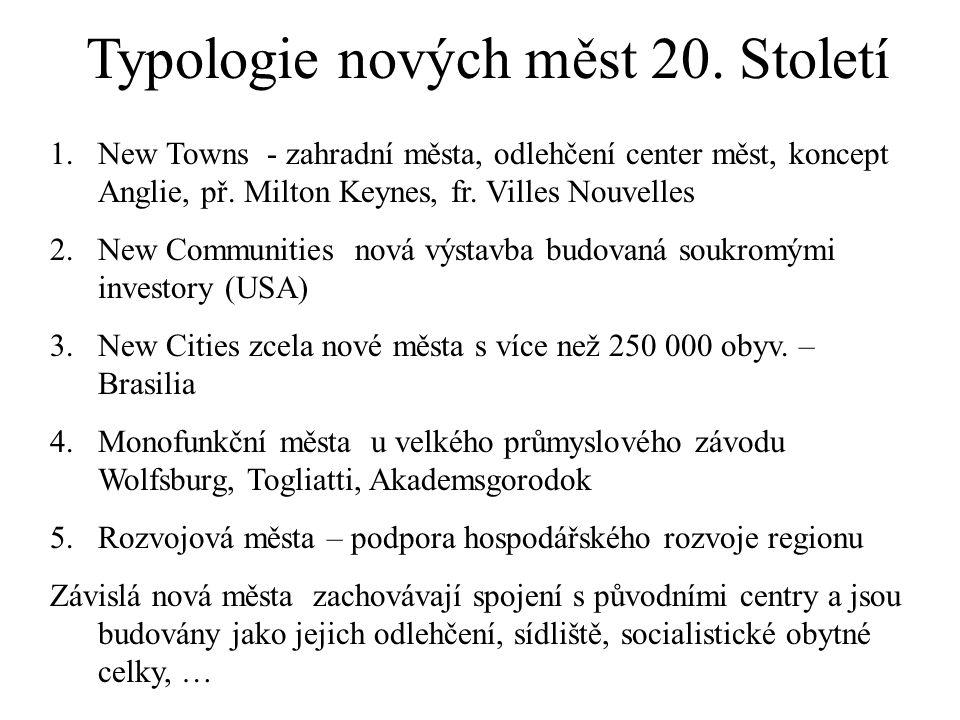 Typologie nových měst 20.