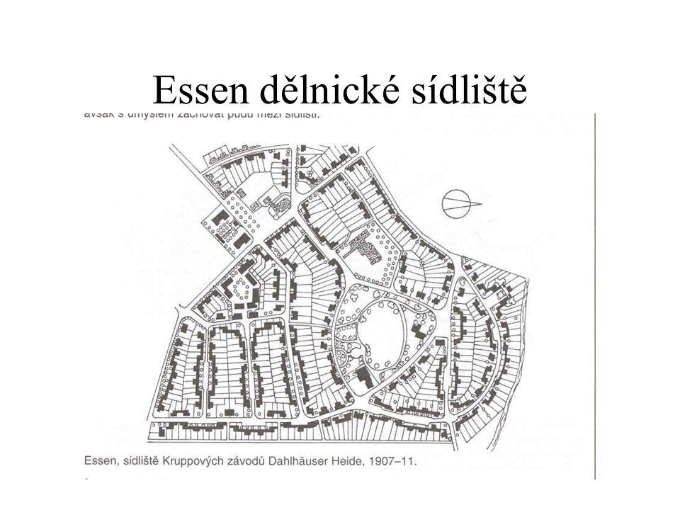 Essen dělnické sídliště