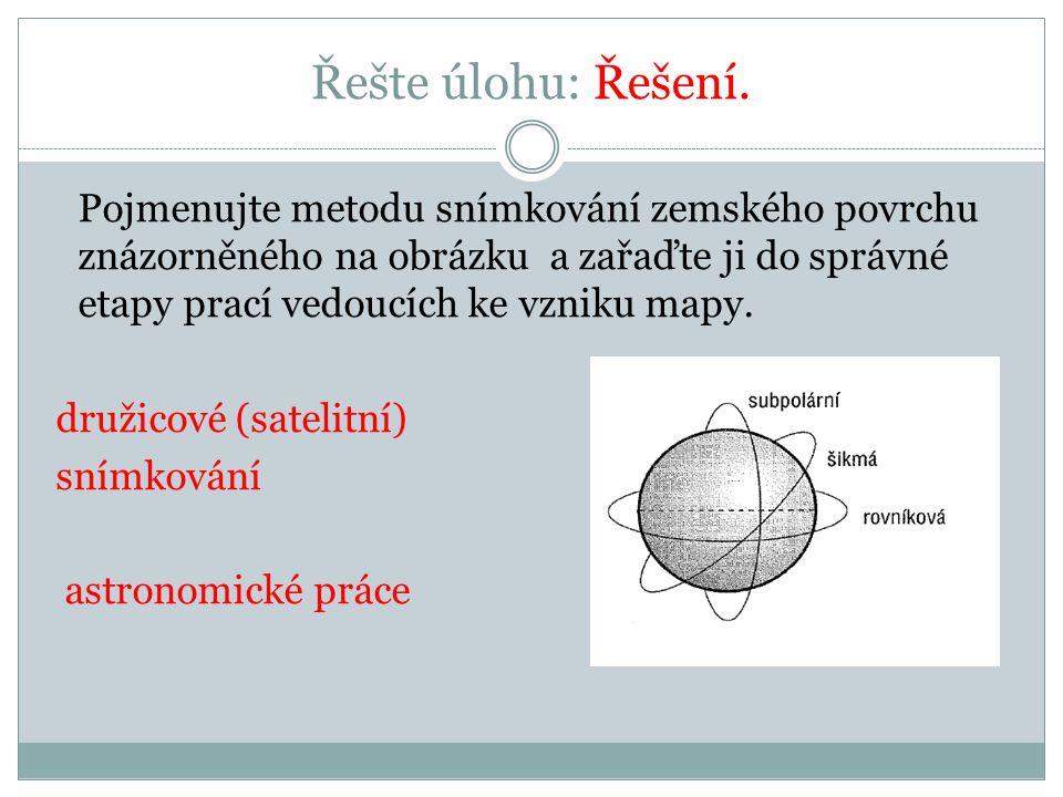 Řešte úlohy: Určete použití scanneru, sextantu a přístroje globálního polohového systému (GPS): ………………………………….