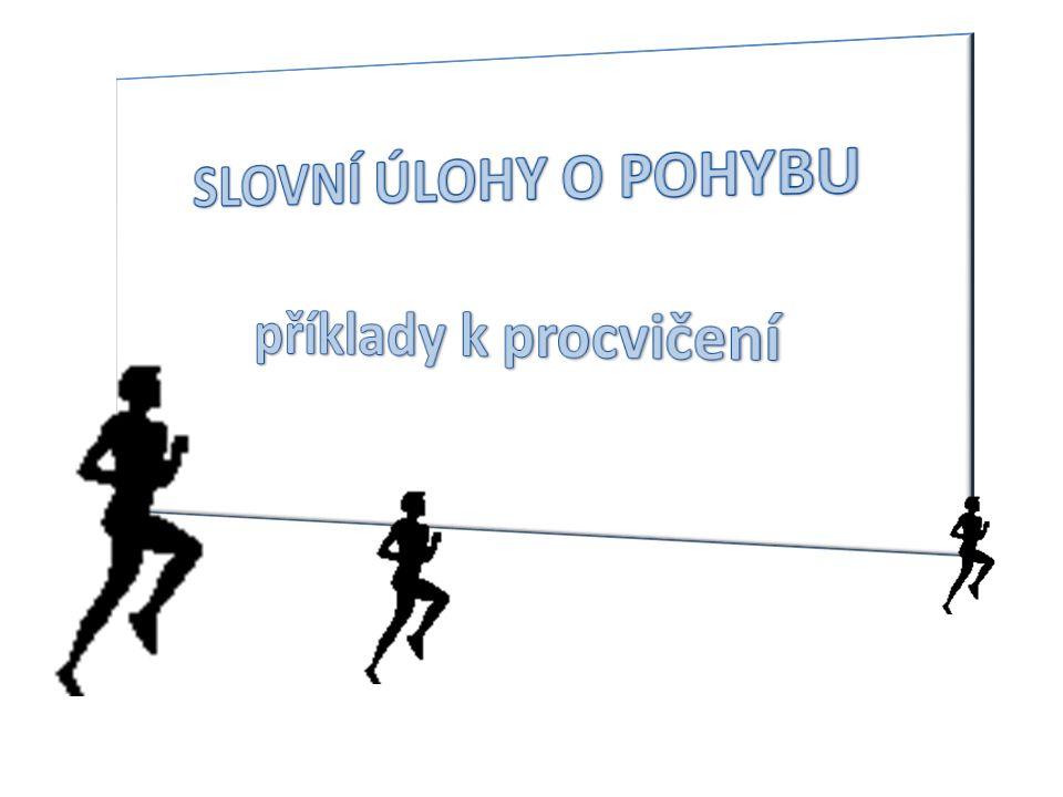Odpověď: Potkají se 20km od Kvítečkova a moucha nalétá 50km.