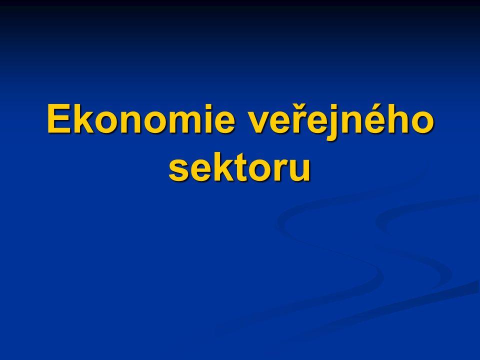 Ekonomie veřejného sektoru