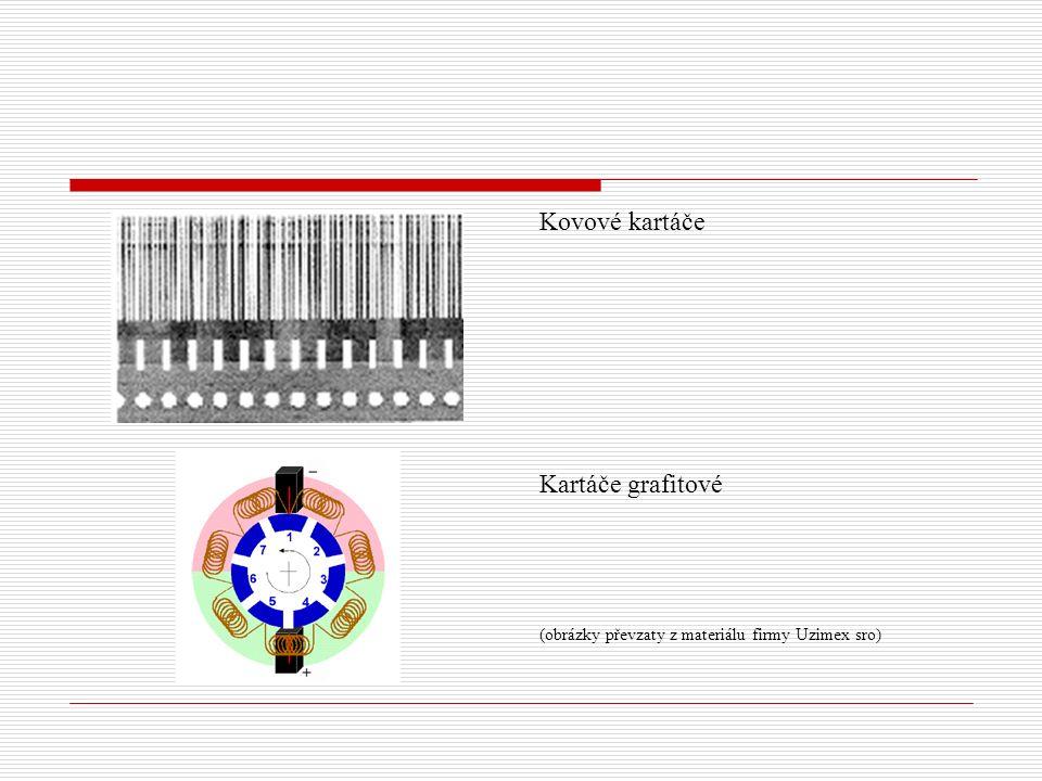 Kovové kartáče Kartáče grafitové (obrázky převzaty z materiálu firmy Uzimex sro)
