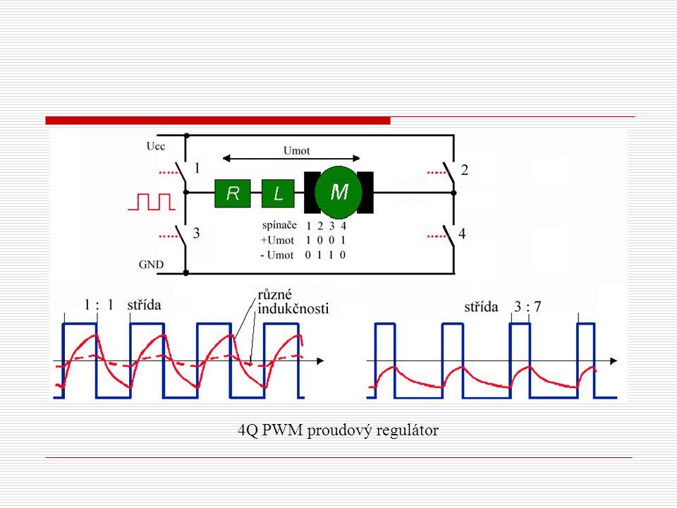 4Q PWM proudový regulátor