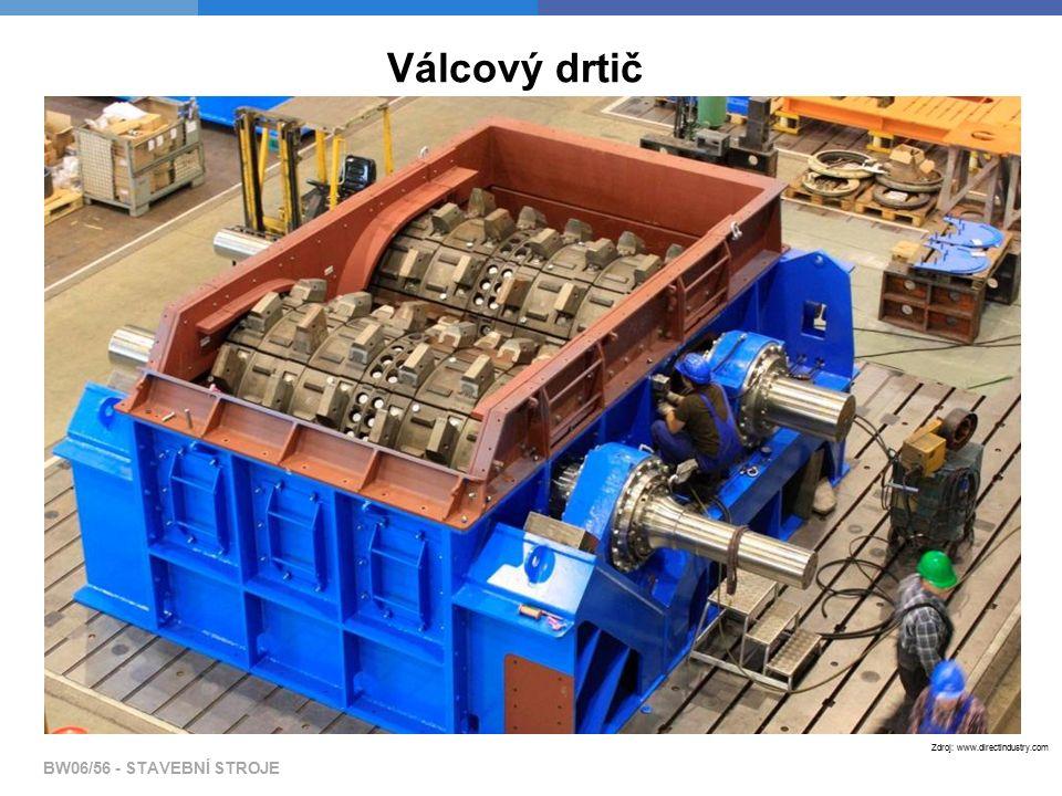 BW06/56 - STAVEBNÍ STROJE Zdroj: www.directindustry.com Válcový drtič