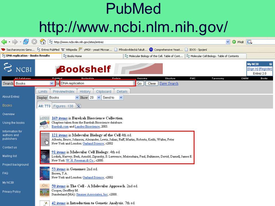PubMed http://www.ncbi.nlm.nih.gov/