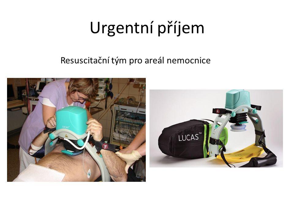 Urgentní příjem Resuscitační tým pro areál nemocnice
