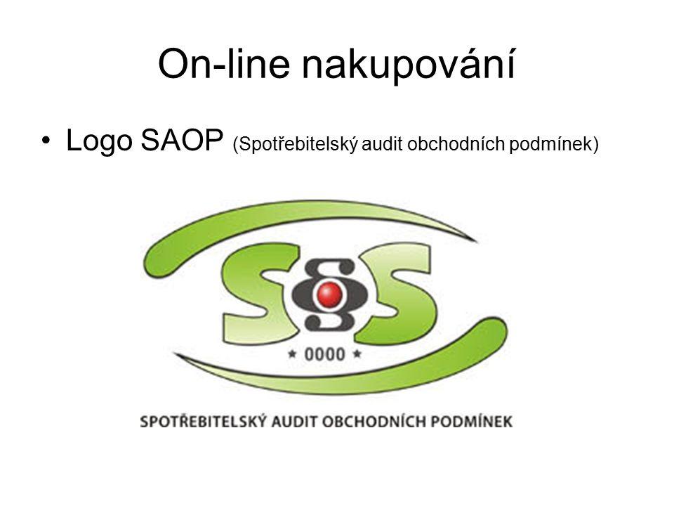 Logo SAOP (Spotřebitelský audit obchodních podmínek) On-line nakupování