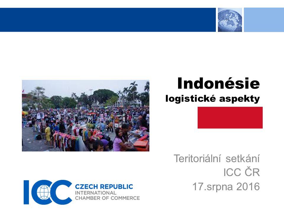 Logistické aspekty při obchodech s Indonésií INDONÉSIE, Ostrovní stát rozkročený mezi pevninským výběžkem Malajského poloostrova a středním Tichomořím, sousedící s bohatými oblastmi Singapuru a Malajsie, Brunei a Austrálie, je v poslední době stále více v centru světové pozornosti.