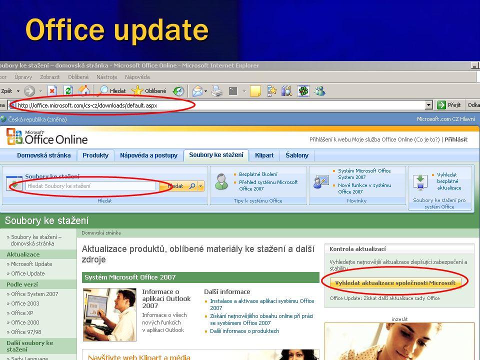 Základní kroky 1 krok Aktualizace 2 krok Firewall 3 krok Antiviry