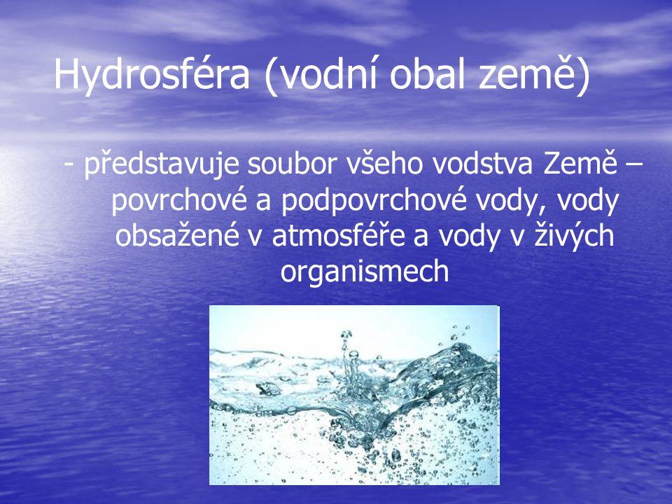 Lidé si neváží toho, co mají - do oceánu je vypouštěno ročně okolo … 2,6 mil.kg arzenu… 2,5 mil.kg zinku… 81 tisíc kg rtuti… 3,7 tisíc kg olova… - v zemědělství se spotřebuje za rok přes 1,5 mil.