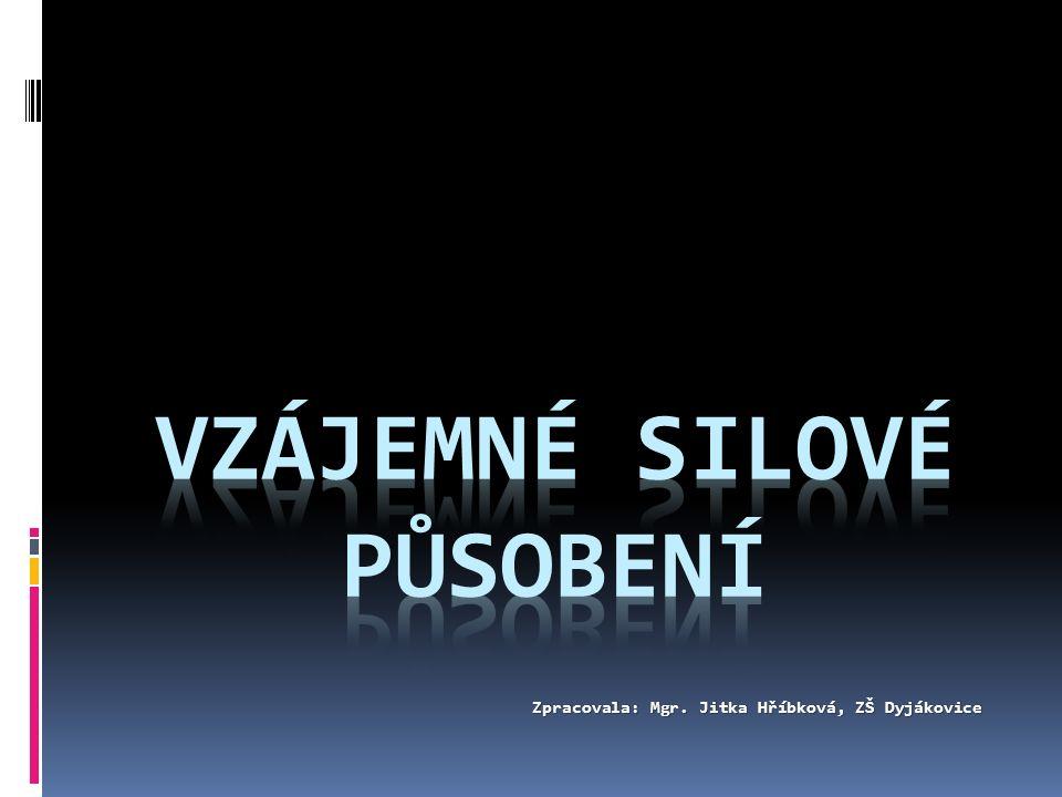Zpracovala: Mgr. Jitka Hříbková, ZŠ Dyjákovice