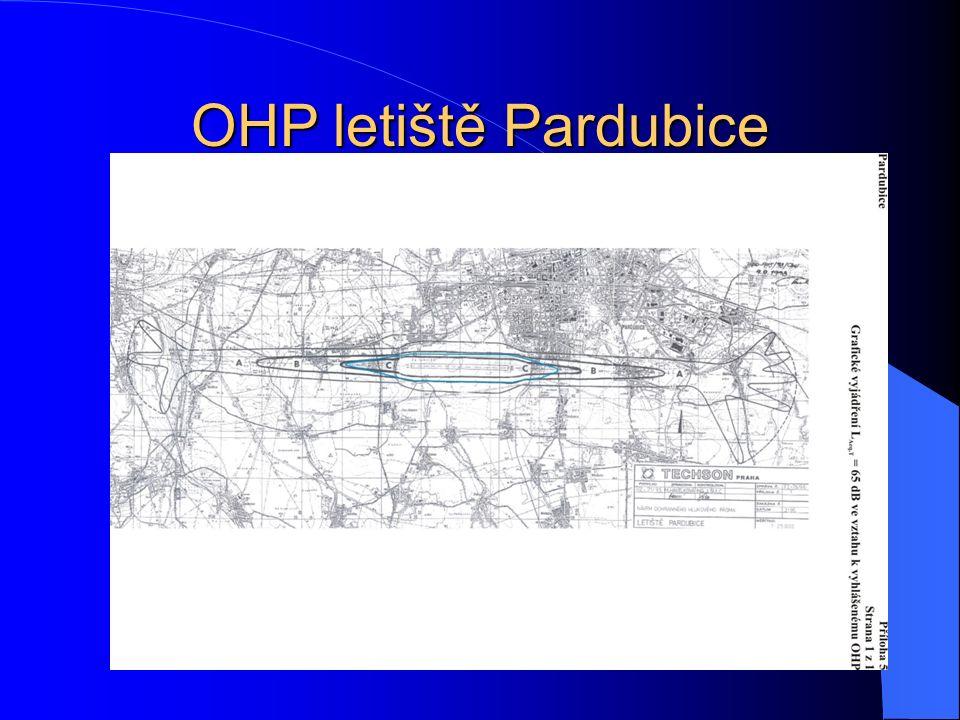 OHP letiště Pardubice