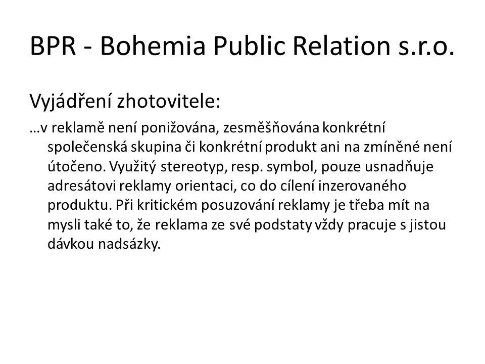 BPR - Bohemia Public Relation s.r.o.