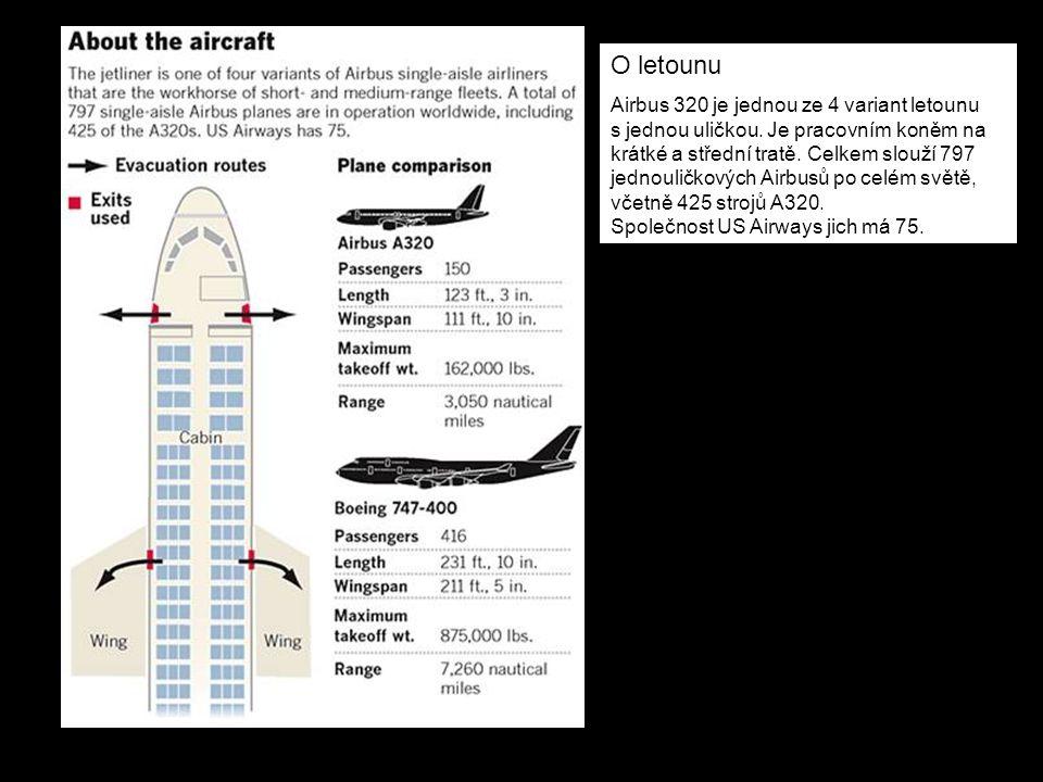 O letounu Airbus 320 je jednou ze 4 variant letounu s jednou uličkou. Je pracovním koněm na krátké a střední tratě. Celkem slouží 797 jednouličkových